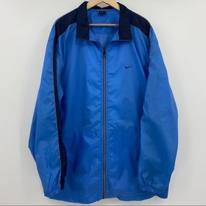 Vintage Nike Nylon Full Zip Windbreaker Jacket